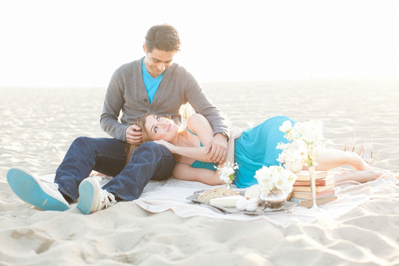 f263faddd9 Michelle + Miguel  Santa Monica Beach Engagement Session  Part Two ...