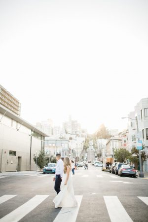 Sarah + Aaron // North Beach San Francisco Couples Session {San Francisco Portrait Photographer}