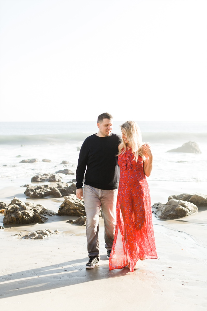 El Matador Beach Maternity Session