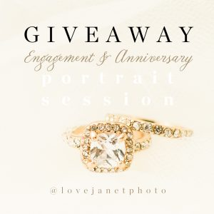 engagement session giveaway
