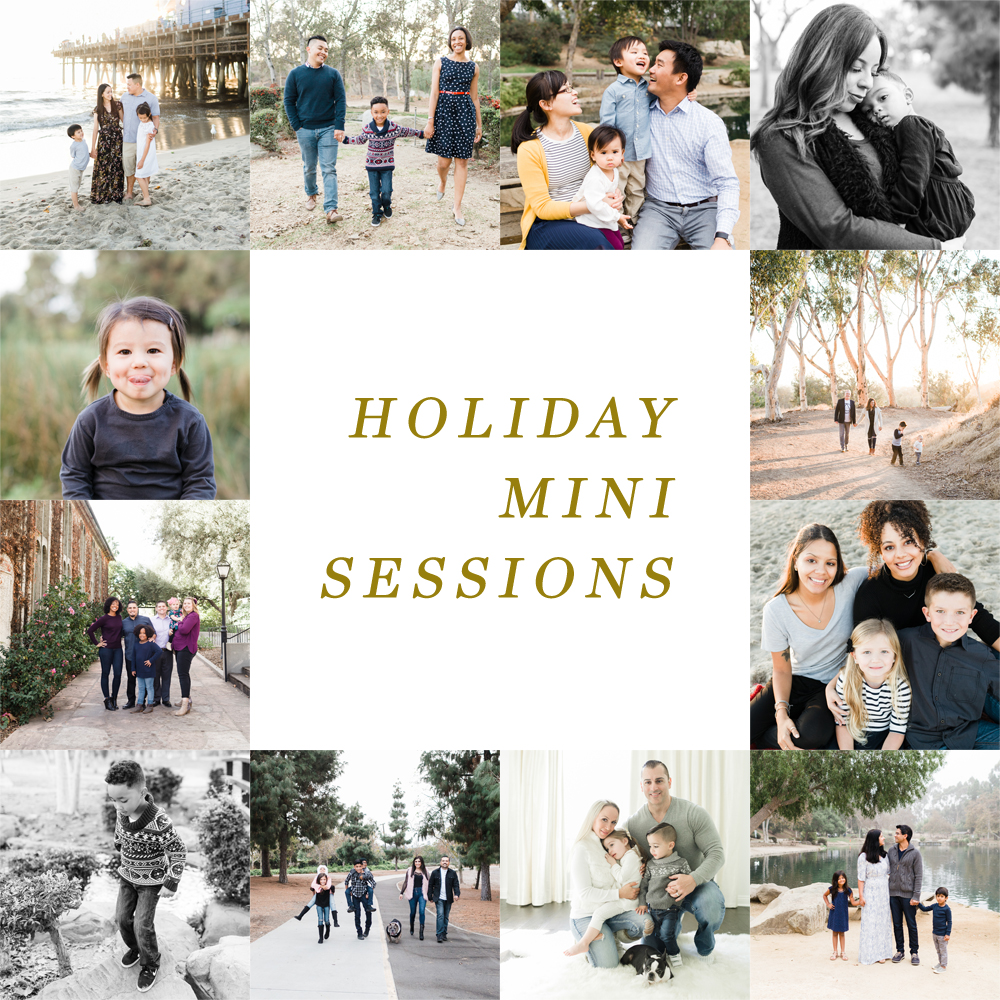 2018 Holiday Mini Sessions // Los Angeles Family Photographer